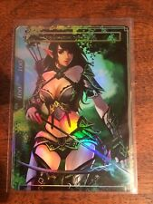 1x FOIL CUSTOM Full Art Force of Will 100/100 Elf Resonator Tokens #2