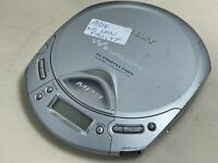 Sony MP3 CD Walkman Portable CD Player D-CJ501 - Turns on, does not spin