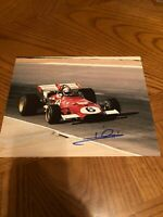 MARIO ANDRETTI SIGNED AUTOGRAPHED 8X10 PHOTO 1978 FORMULA ONE CHAMPION 2