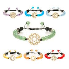Fashion Female Tag  Crystal Beads Pendant Woven Charm Bracelet Jewelry Gift ON