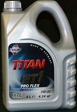 5 Liter Fuchs Titan GT1  Flex 23  Motoröl 5W30 Opel dexos2 MB 229.51 BMW 5W-30
