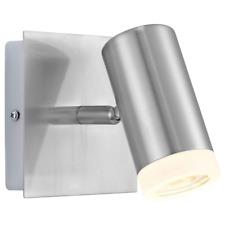 EGLO 90344 lámpara níquel x pared 1 foco 9W GU10 modelo Vivian 220V IP20