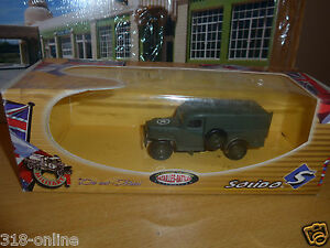 Solido Dodge WC 54  W box made in 1972 lovely and rare military model # 6143