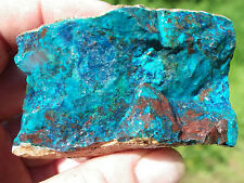 Shattuckite. Beautiful blue/green Lapidary Rough, from Namibia. 1 pound lot