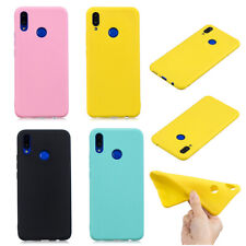 Slim Plain Brief Soft Silicone Protective Case Cover For Mobile Phone Shell