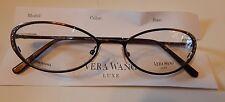 Vera Wang Luxe Titanium Epiphany I Chocolate 51/17 Eyeglass Frame New