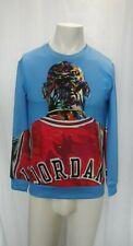Michael Jordan Mens Medium Long Sleeve 3-D Printed Athletic Shirt M
