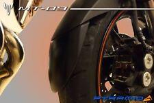 Yamaha MT09 Tracer 900 Extenda Fenda Guardabarros Delantero Guardabarros Extensión Negro
