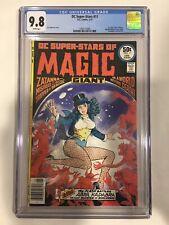 D.C. Super-Stars of Magic #11 First Solo Zatanna CGC 9.8 1 of 5 on CGC Key