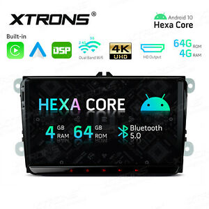 """9"""" Android 10.0 Car Stereo GPS Radio Wireless Car Auto Play for VW Seat Skoda"""