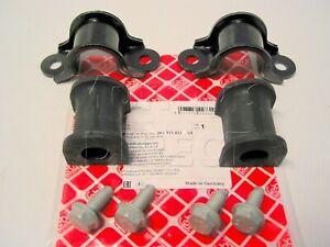 FEBI REAR Anti Roll Bar Bush Repair Kit Bushes Clamps & Bolts for VW Caddy MAXI