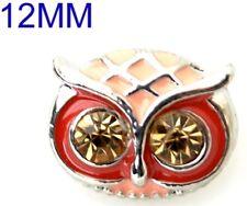 Brown Owl Rhinestone 12mm Mini Petite Charm For Ginger Snaps Magnolia Vine