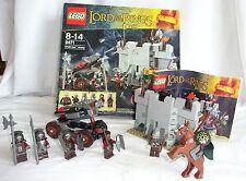 """LEGO Il Signore degli Anelli esercito di Uruk-hai """"Set 9471-COMPLETO-ÉOMER minifigura"""