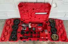 """Milwaukee 2677-23 M18 ForceLogic 6T Knockout Tool Kit 1/2"""" to 4"""" - """"Great Shape"""""""