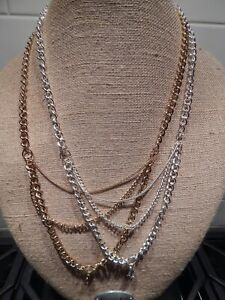 "Authentic Origami Owl 28"" Multi Layer Chain - NEW & Retired"