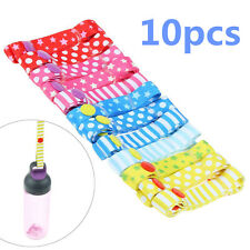 10Pc Fixed Toys Rope No Drop Baby Bottle Toy Sippy Cup Holder Strap