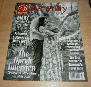 Royalty magazine Volume 28 No 3 2021 The Oprah Interview, CHarlottle Casiraghi &