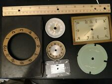 Assorted Vintage Clock Faces lot of 6