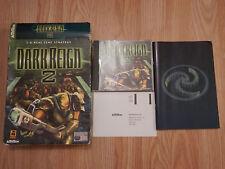Dark Reign 2 - 3D de stratégie en temps réel-PC Game 1997-2000 Activision big box jeu