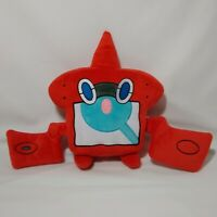 Rotom Pokemon Nintendo Tomy Official Plush Stuffed Animal Doll