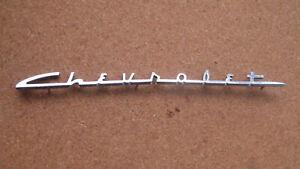 """Schriftzug, Emblem, Chevrolet 60er Jahre Schriftzug  """" Chevrolet """""""