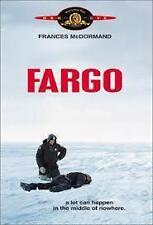 Fargo Cohen Brothers Frances McDormand Region 4 DVD VGC