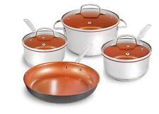 Nuwave 7 Piece Pot Cookware Set- free from PFOA, PTFE and Cadmium