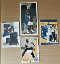 MICHAEL JORDAN Washington Wizards Lot (4) Cards: Topps & UD #51, #90, #178, #121