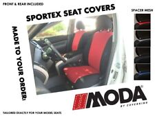 Coverking MODA Sportex Spacer Mesh Front & Rear Seat Covers for Chevy Suburban