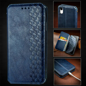 Magnetic Flip Phone Case Wallet Cover For iPhone 12 11 XR XS 7 8 Plus SE 2020