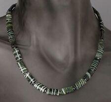 Ö.886 Collier 925er Silber rhodiniert Silberauge Hämatit 120ct