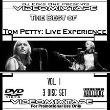 VMT-Tom Petty Live Experience Vol. 1 3xDVD-29 Videos-w/Bob Dylan,Axl Rose,Prince