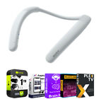 Sony Neckband Portable Wireless Bluetooth Speaker, White + Protection Pack