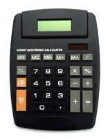Solar XL Taschenrechner mit großem Display | Mathe Rechner | Tischrechner