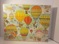 VINTAGE GREAT AMERICAN PUZZLE FACTORY Susan STURGILL  PUZZLE ANIMAL BALLOON RACE