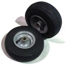 2 Genuine Husqvarna  Wheel Tire 11 x 4.10-5 Front Caster Z Turn Mower 581199701
