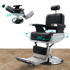 Hydraulic Recline Barber Chair Heavy Duty Salon Spa Beauty Shampoo Equipment