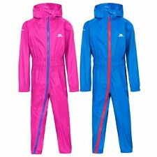 Trespass Babies Rain Suit Hooded All in One Breathable Button II