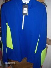 Ralph Lauren Rlx Men's Blue & Green Stretch & Recover Warm-Up Shirt ~ Sz L $145