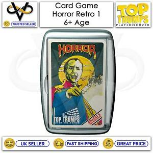 Top Trumps Card Game Play & Discover Horror PK 1 Latest Edition Family Game