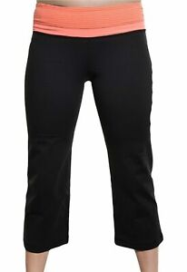 Lot Of 15 Kirkland Signature Women's Reversible Workout Stretch Capri Yoga Pant