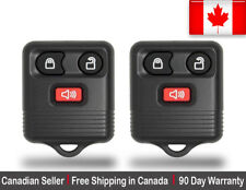 2x New Replacement Keyless Entry Remote Control Key Fob For Ford 2L3T-15K601-AB