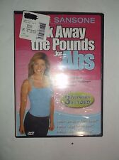Walk Away the Pounds for Abs w/ Leslie Sansone Miles 1-3 (DVD, 2002) BRAND NEW