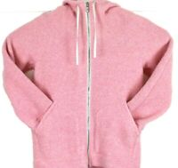 Lululemon So Sherpa Wool Blended Hooded Jacket pink  size 4