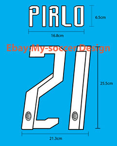 AC MILAN Home 2007-08 Soccer Football NAME NUMBER PU REPRODUCTION PRINT