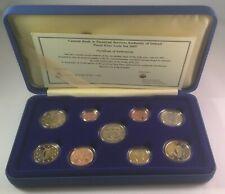 Irland Euro Münzen Kursmünzensatz Römische Verträge Polierte Platte PP 2007