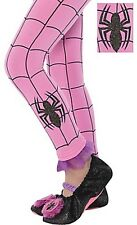 The Amazing Spider-Man Spider-Girl Pink Footless Tights Child Costume Stockings