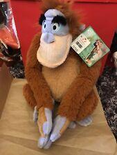"Disney The Jungle Book King Louie Orangutan 15"" Plush Stuffed Animal- New"