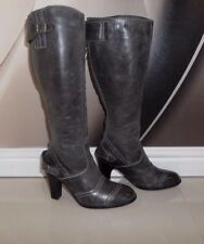 NWOB ITALIAN MADE Belstaff Grace STUNNING KNEE HIGH REAL LEATHER WINTER BOOTS 4