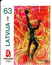 Latvia 2008 Summer Olympic, Beijing 2008, MNH, perf. E #4